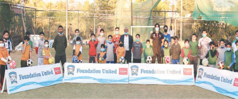 FUSA playing vital role in grooming young footballers [Dawn]