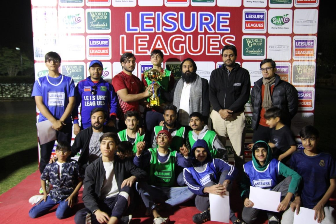 Hyundai Xteer wins Leisure Leagues Winter CUP 2021 title