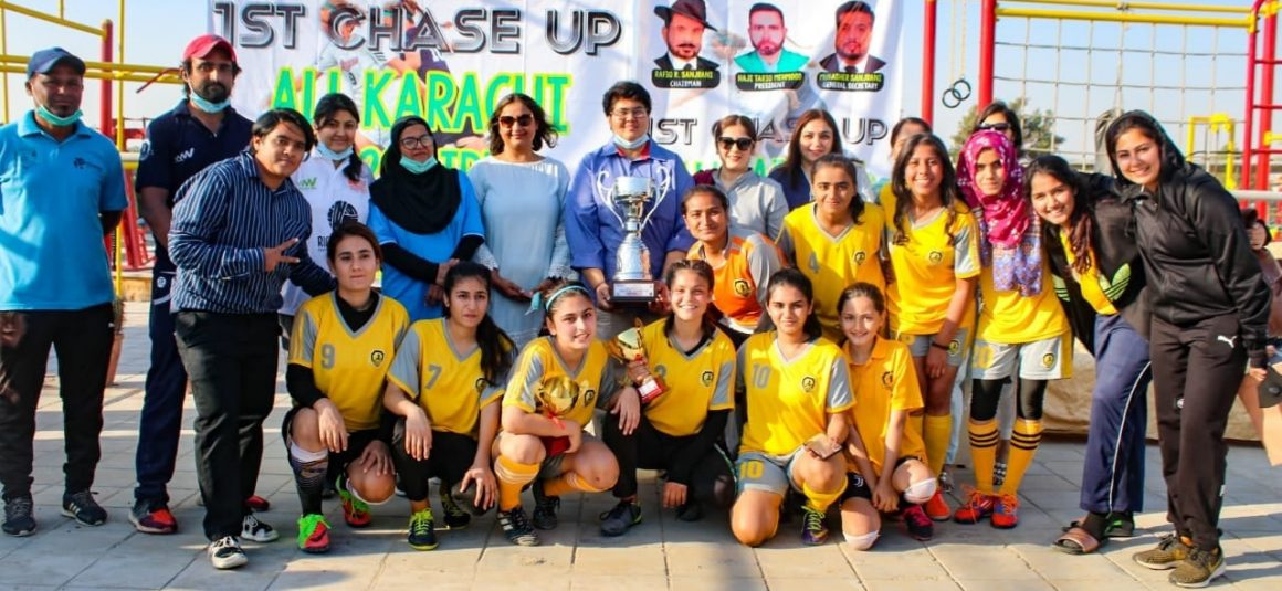 'Futsal is for girls, football is for boys' [Express Tribune]