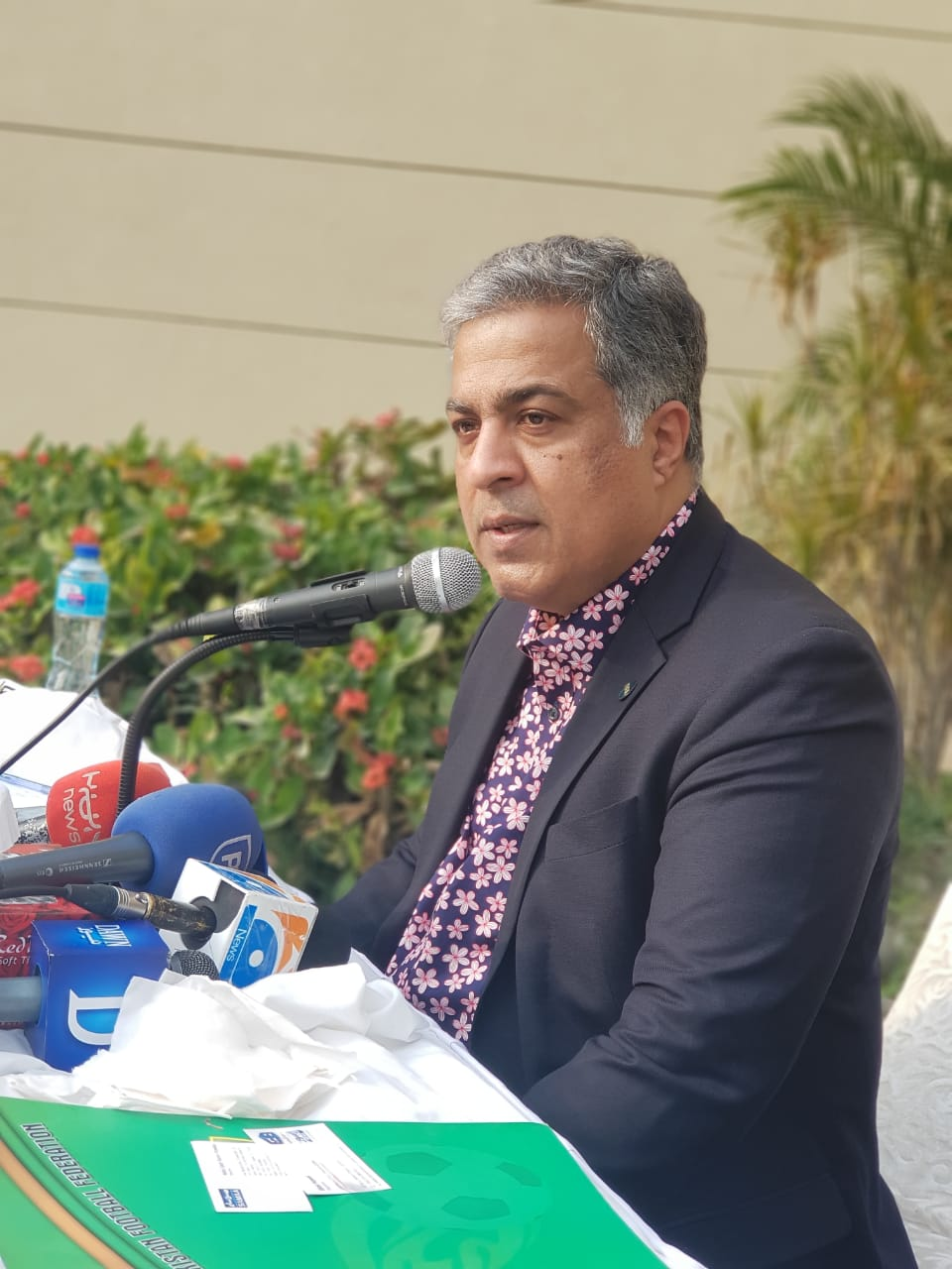 PFF NC chairman holds first presser in Lahore