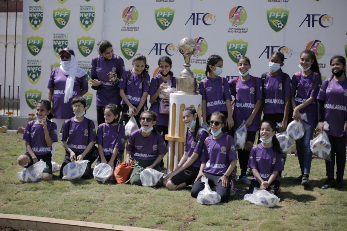 PFF CELEBRATES AFC WOMEN'S FOOTBALL DAY