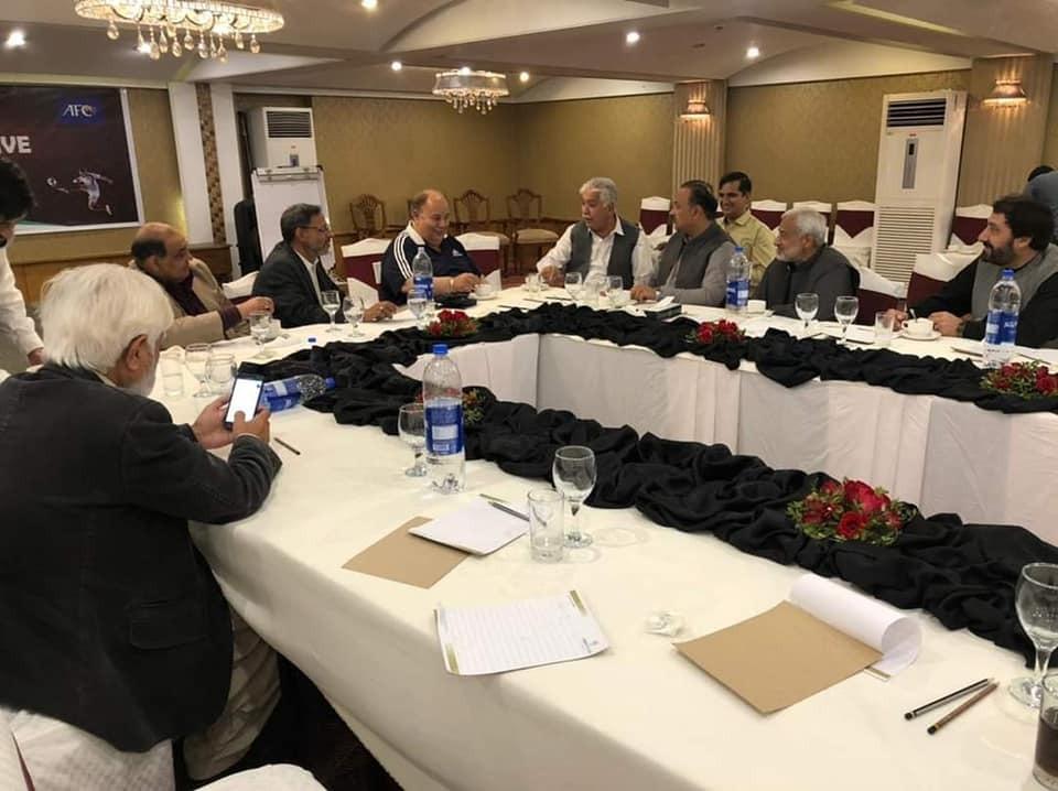 Ashfaq Shah calls PFF meeting [The News]