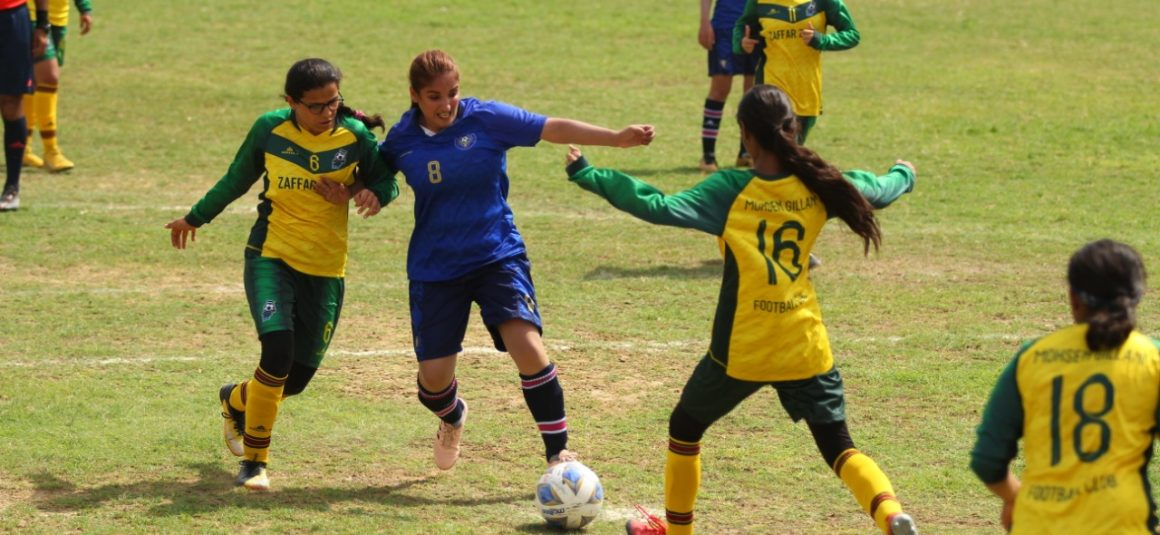 Goal count up again in national women's football [Dawn]