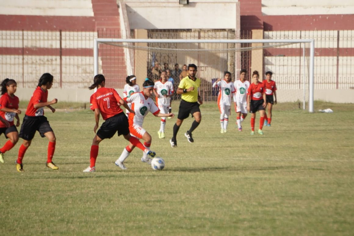 Masha top Group B after battling draw with Karachi Utd in NWFC