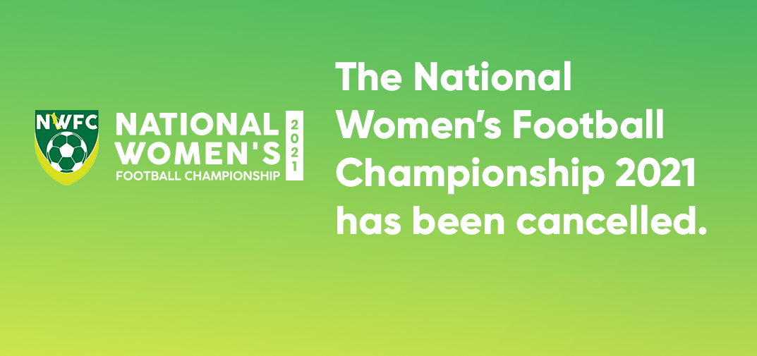 National Women's Championship cancelled