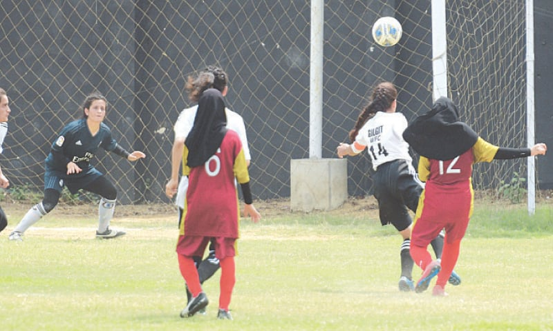 Zohra inspires Hazara Girls FA's fairytale march into quarters [Dawn]