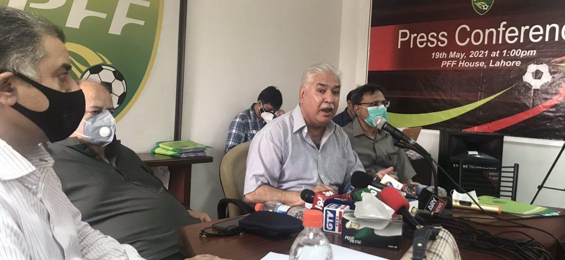 Presenting damning evidence, Ashfaq group lays into PFF NC's working [Dawn]