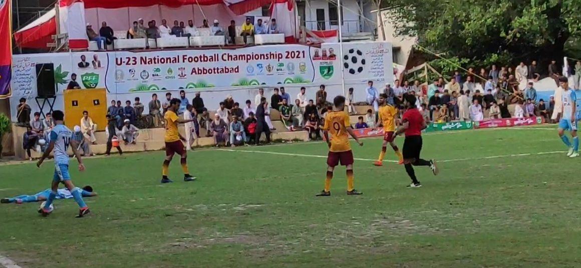 Khyber Eagles enter National U23 Football final [The Nation]