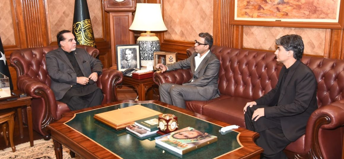 Organisers discuss professional football league with Sindh Governor [The News]