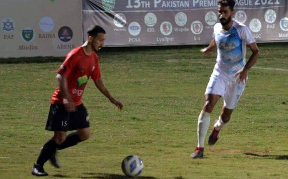 Karachi United edge CAA in PPFL match [The News]
