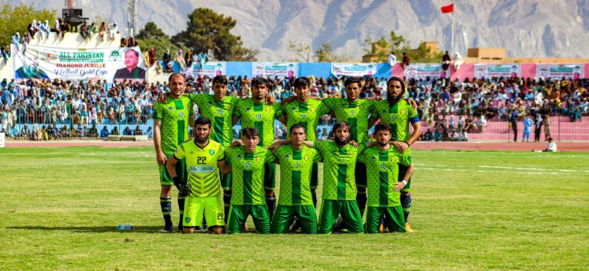 Balochistan football needs representation: Qadeer [Express Tribune]